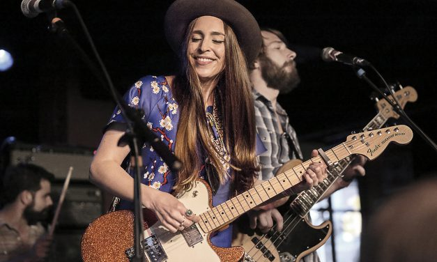 Musician Angela Perley