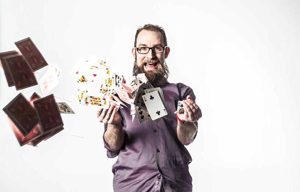 Magician Erik Tait