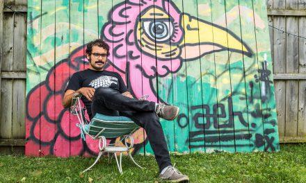 Muralist Adam Hernandez